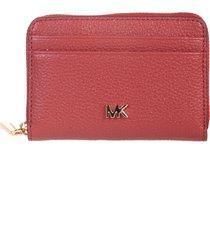 michael kors light rust wallet / purse