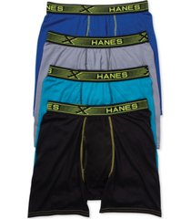 hanes men's 4-pk. x-temp boxer briefs