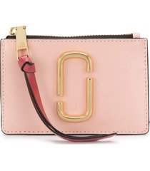 marc jacobs the snapshot top zip multi wallet - yellow