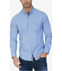 nautica men's big & tall oxford shirt