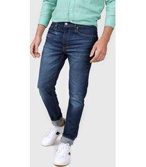 jean azul levi's ® 512 slim taper - quincy bold ltwt