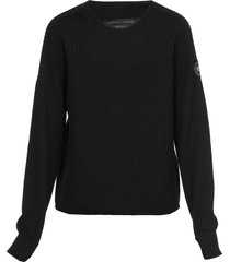canada goose blend wool sweater