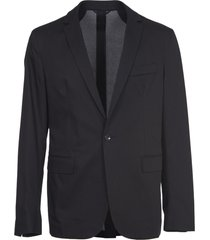 dondup black classic blazer