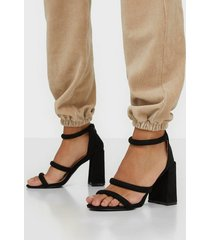 glamorous glamorous strap heels high heel