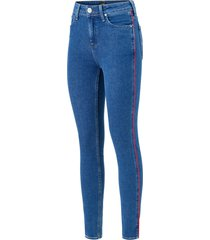jeans scarlett piping high waist skinny