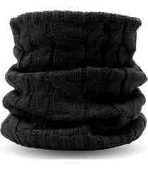 bandana neckwarmer negro wild wrap