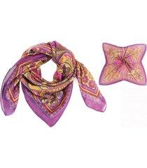 pañuelo violeta almacén de paris