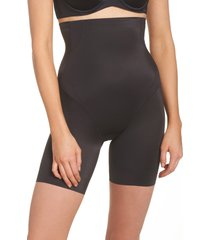 women's tc cooling high waist thigh slimmer, size xx-large - black