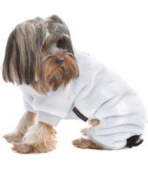 parisian pet velour dog pajama