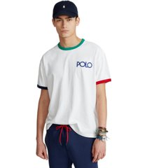polo ralph lauren men's classic-fit logo ringer t-shirt
