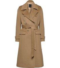 cashmere coat w - bo yllerock rock beige sand