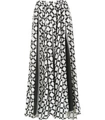 amir slama long skirt - black