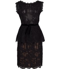 corded lace top and skirt