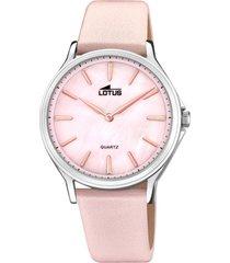 reloj retro rosa lotus
