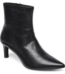 d bibbiana b shoes boots ankle boots ankle boots with heel svart geox
