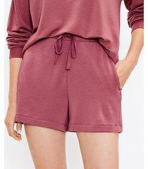 loft lou & grey signature softblend drawstring shorts