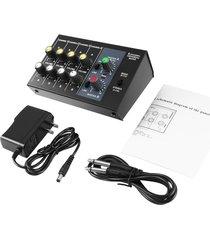 la consola de mezcla digital de 8 canales de karaoke consola mezcladora universal mono/estéreo