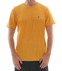 lacoste logo t-shirt - yellow th6709-4bw