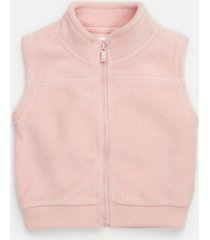 chaleco rosa cheeky cozy
