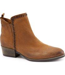 women's bueno lodi block heel bootie, size 8.5-9us - brown