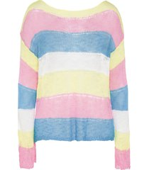 maglione oversize (giallo) - rainbow