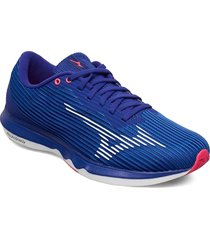 wave shadow 4 shoes sport shoes running shoes blå mizuno