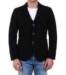 barena wool jacket black