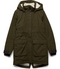ronne gs yt parka outerwear jackets & coats winter& warmlined jackets groen didriksons