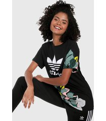 camiseta negro-multicolor adidas originals her studio london