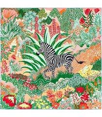 szal szalik jedwab apaszka jedwabna zebra