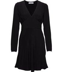 cindy short dress ls 10056 knälång klänning svart samsøe samsøe