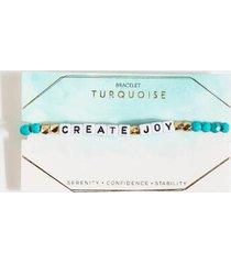 create joy turquoise bracelet - turquoise