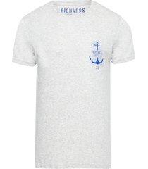 t-shirt masculina mescla anchor - cinza
