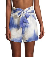 horice tie-dye shorts