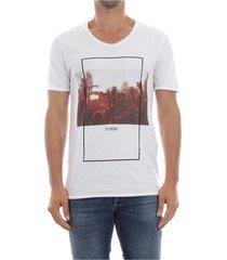 premium by jack&jones 12137146 festival print t shirt and tank men white