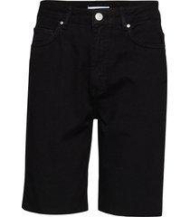 enbrenda long shorts 6522 shorts denim shorts svart envii