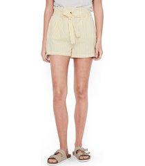 women's vero moda paperbag waist shorts