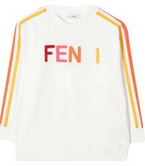 fendi white sweatshirt