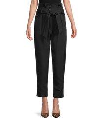 iro women's anost paperbag pants - black - size 36 (4)