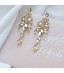 kolczyki perfect glam chandelier - gold