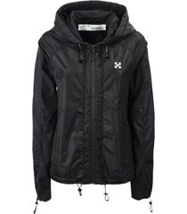 off-white black nylon jacket