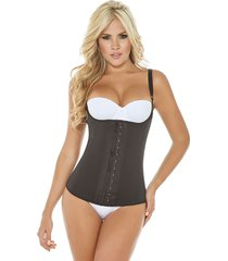 cocoon slim latex waist cincher and trainer vest - plus size available - chaleco