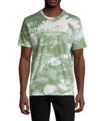 true religion men's tie-dye short-sleeve t-shirt - desert pine - size xxxl