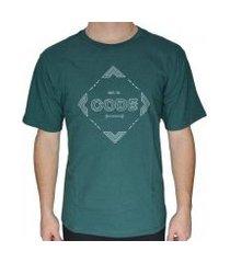 camiseta code access masculina