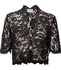 edda bolero ½ sleeve min16 pcs. blouses short-sleeved svart kaffe