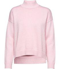 wool knit gebreide trui roze ganni