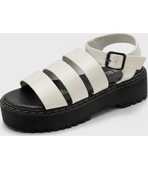 sandalia blanco fiveblu