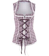 corsetto bavarese con cerniera (viola) - bpc bonprix collection