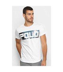 camiseta polo rg 518 swag estampa foil masculina
