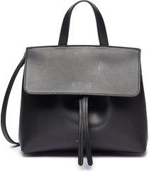 'mini mini lady' leather shoulder bag